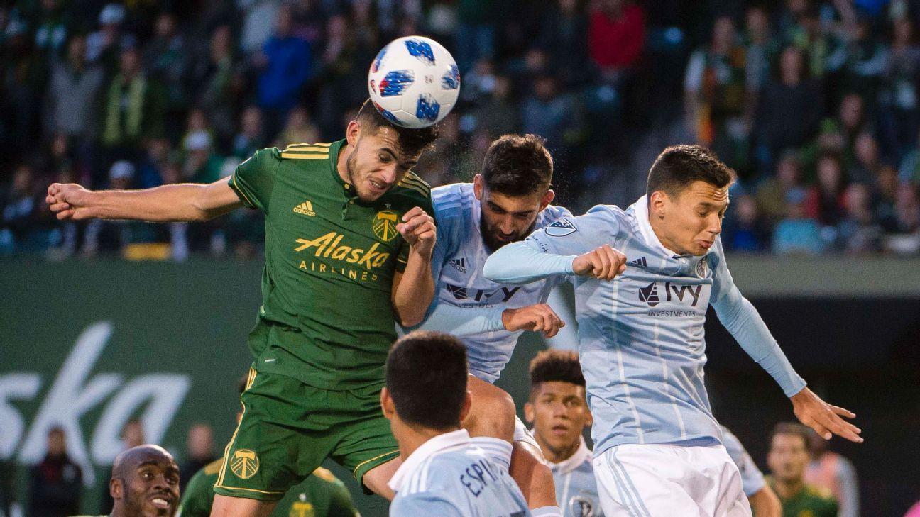 Sporting Kansas City, Portland Timbers share the spoils