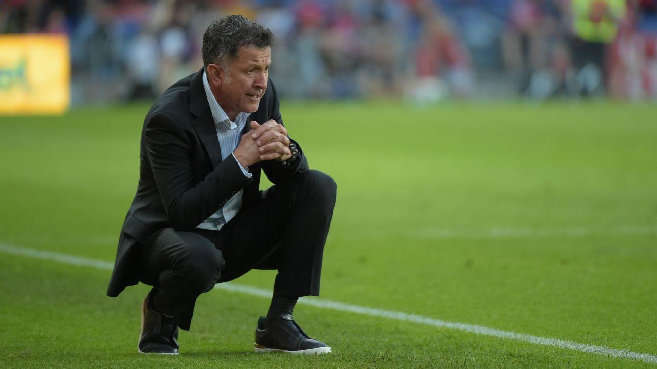 Mexico coach Juan Carlos Osorio