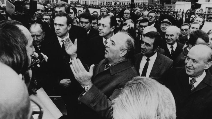 Former Soviet leader Mikhail Gorbachev is a personal hero of the author.