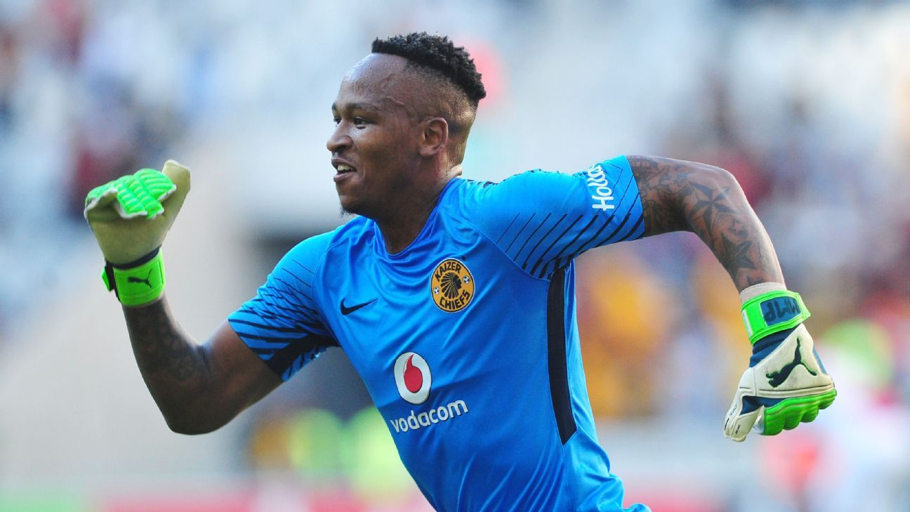 Brilliant Khuzwayo while playing for Kaizer Chiefs