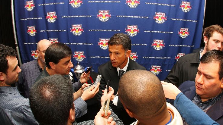 Osorio spent time in MLS as an assistant for the MetroStars and head coach for the New York Red Bulls and Chicago Fire.