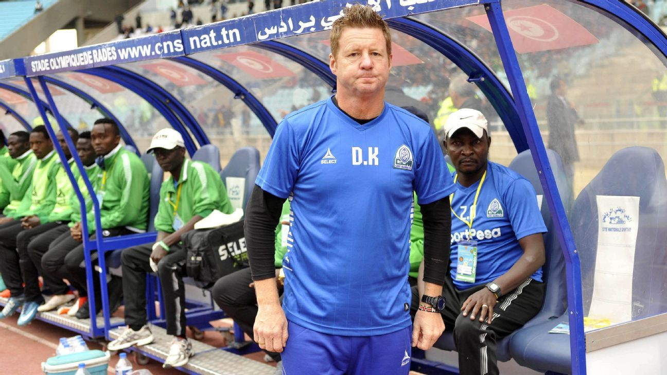 Gor Mahia Football Club head coach Dylan Kerr
