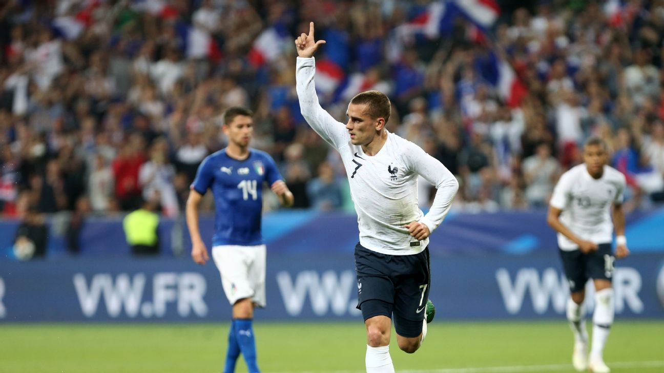 After scoring six goals at the Euros, what does Antoine Griezmann have in store for the World Cup.