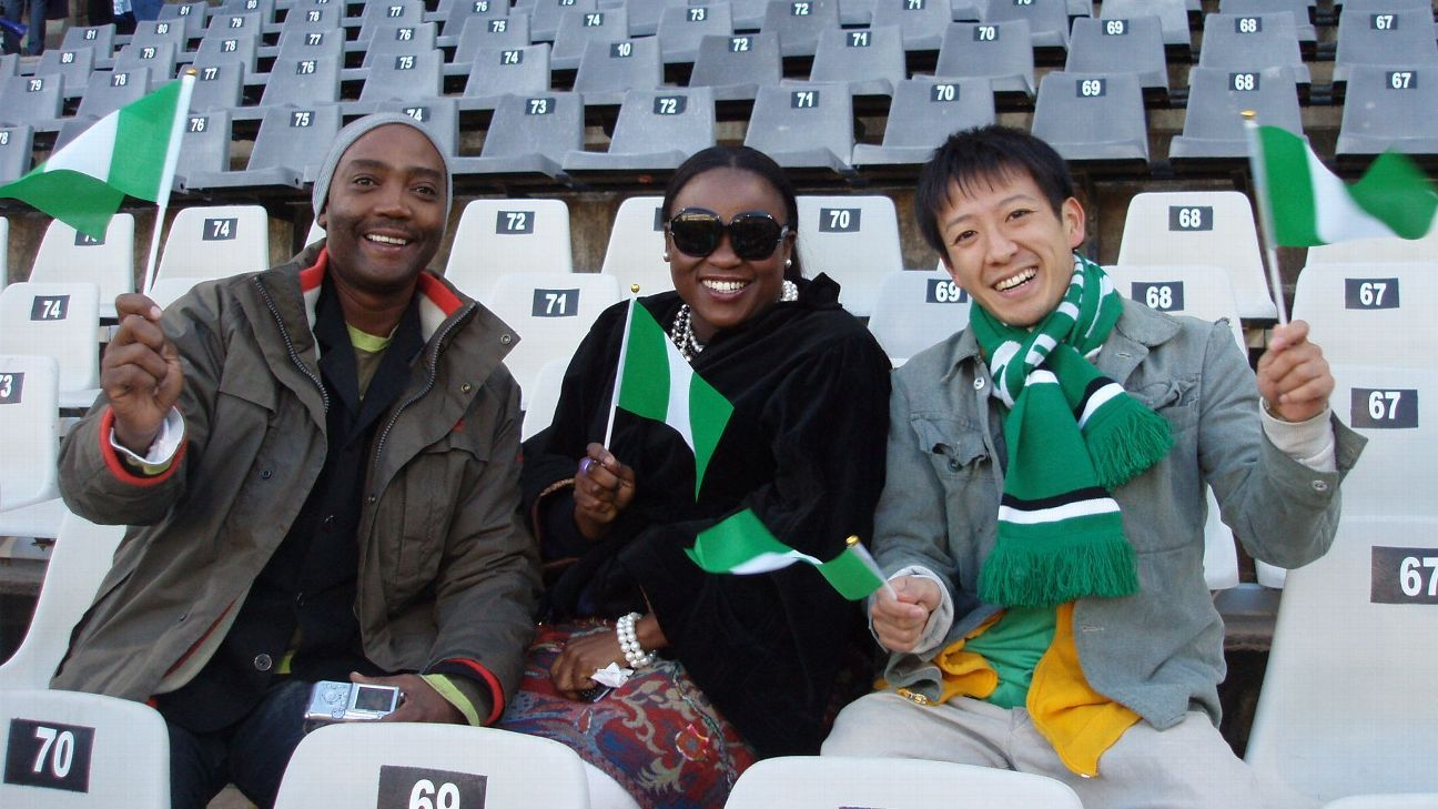 Koichi Suga at the 2010 World Cup in South Africa