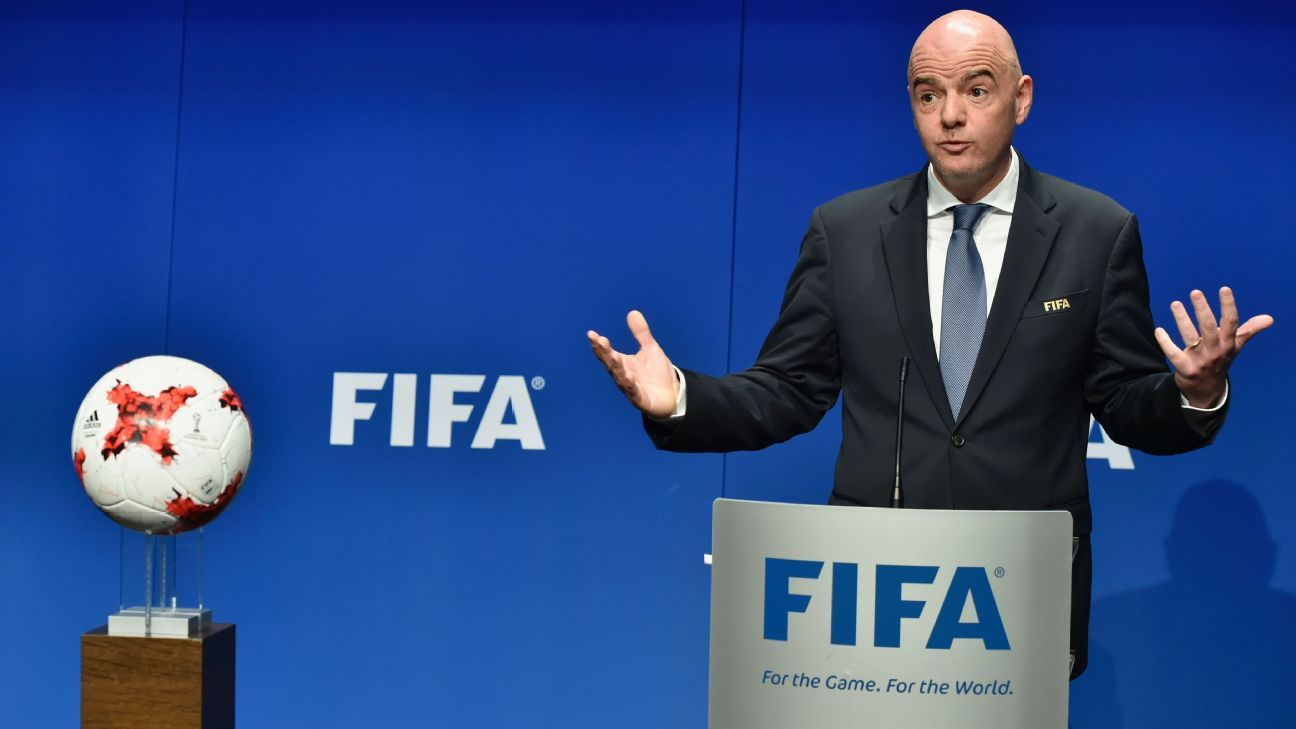 World Cup expansion to 48 teams possible by 2022 - Gianni Infantino