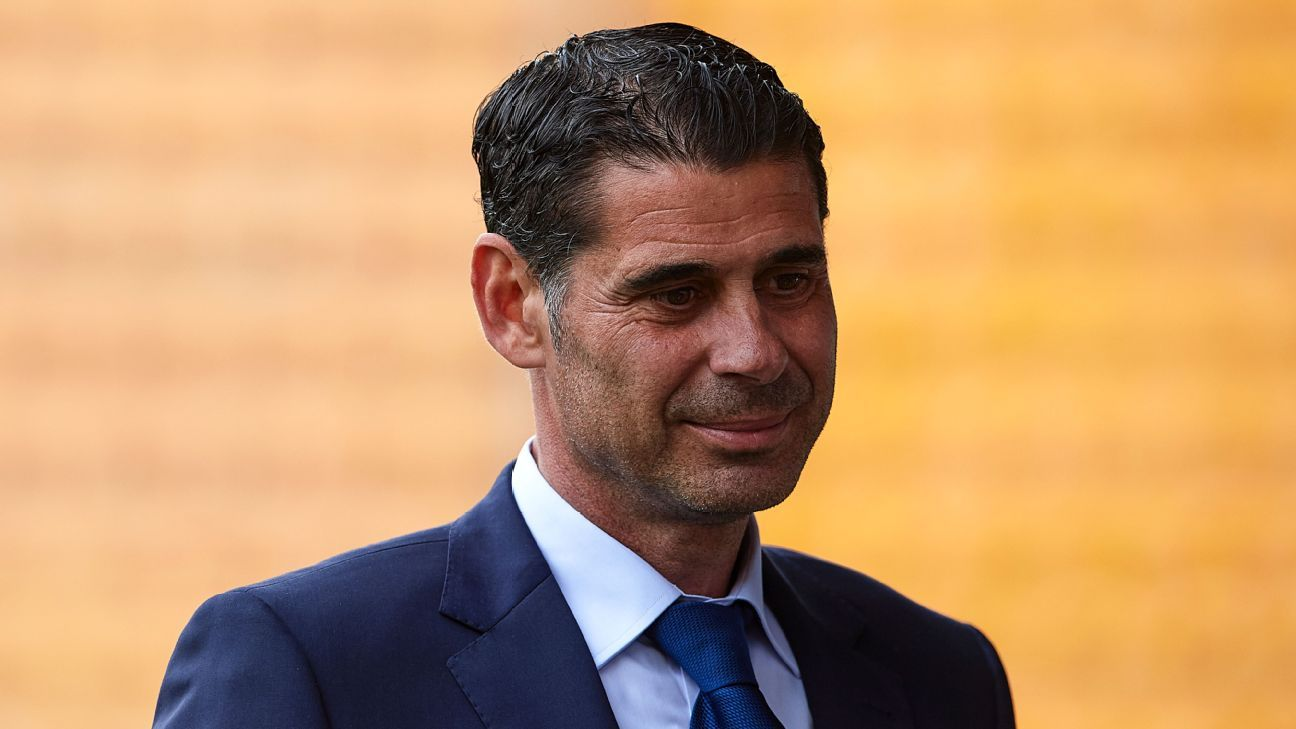 Fernando Hierro will take charge of Spain at the World Cup.