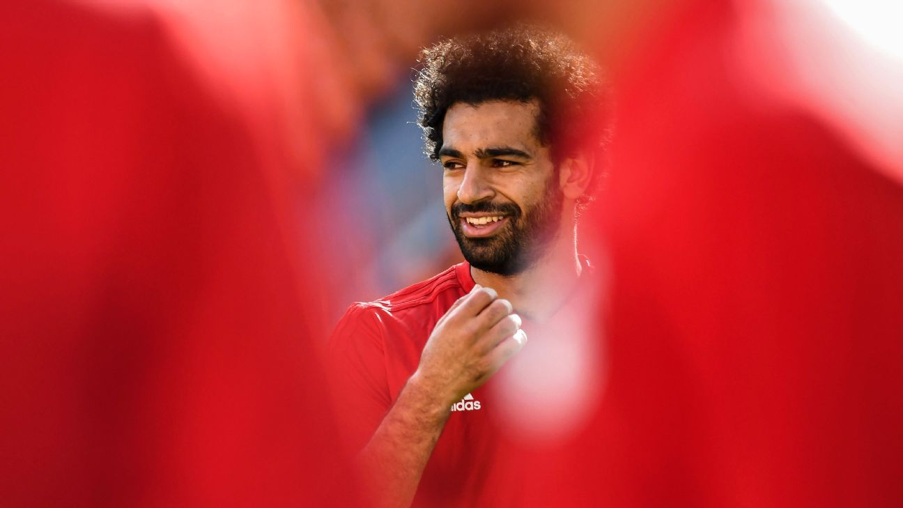 Mohamed Salah's imperiousness on the pitch is matched only by his humility off it.
