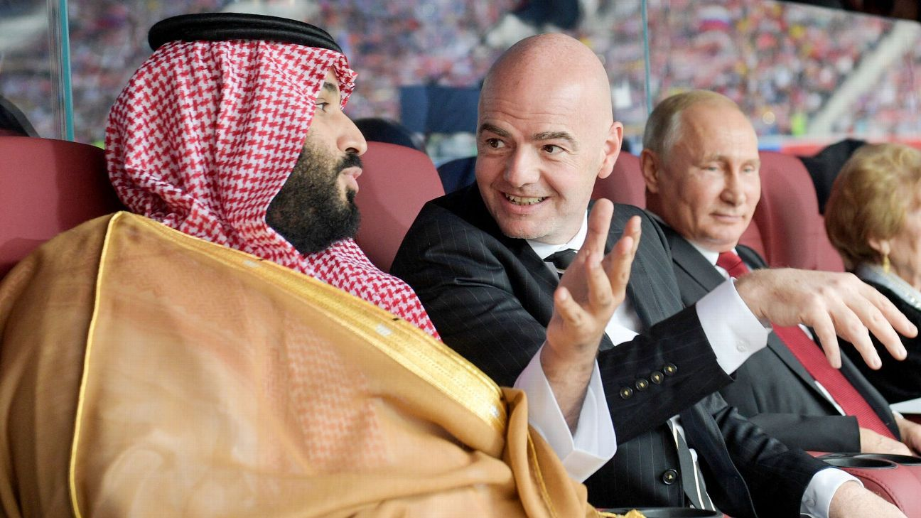 Scenes of heads of state and FIFA enjoying the World Cup's opening game fit the bizarre vibe of the tournament so far.