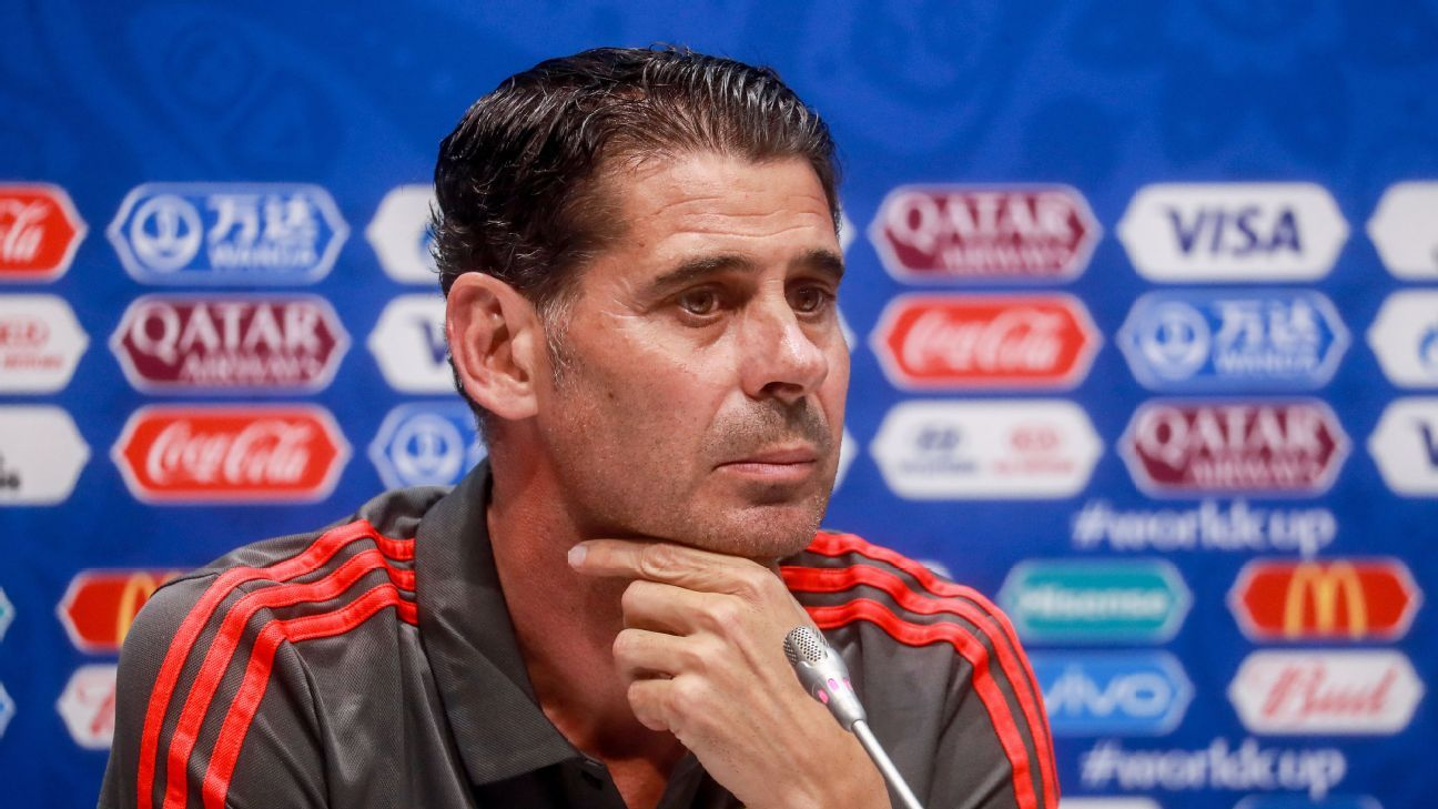 Fernando Hierro has been thrown into an all-time pressure situation with Spain. Can he make it work?