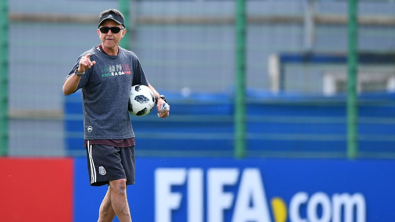 Juan Carlos Osorio has a history of keeping Mexico's tactics and lineups close to the vest.