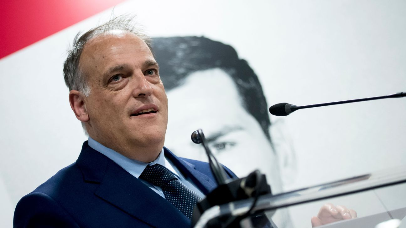 La Liga president Javier Tebas says a game in the U.S. would benefit MLS as well.