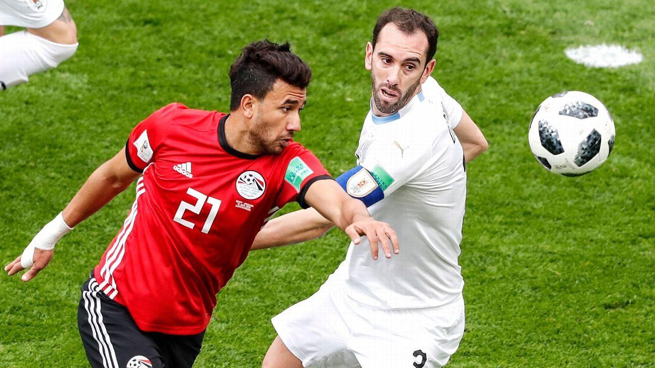 Tackling, blocking, intercepting; Diego Godin is everywhere
