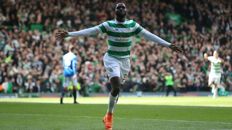 Odsonne Edouard played a key role as Celtic secured a second successive Treble.