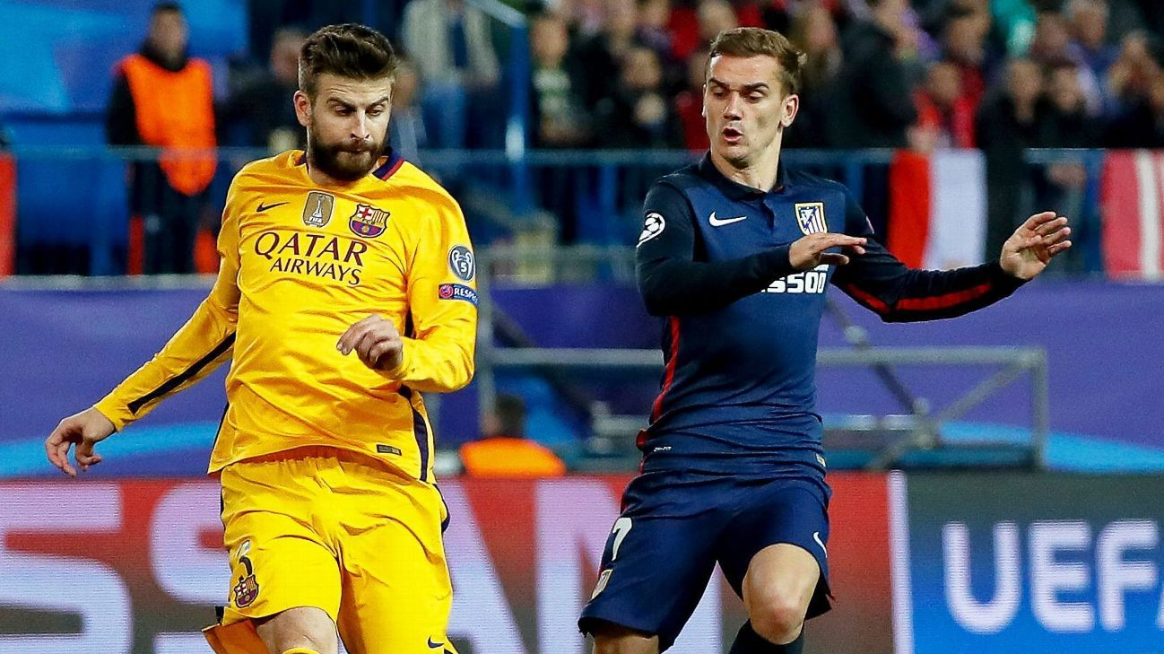 Gerard Pique's company produced Antoine Griezmann's documentary regarding a potential transfer to Barcelona.