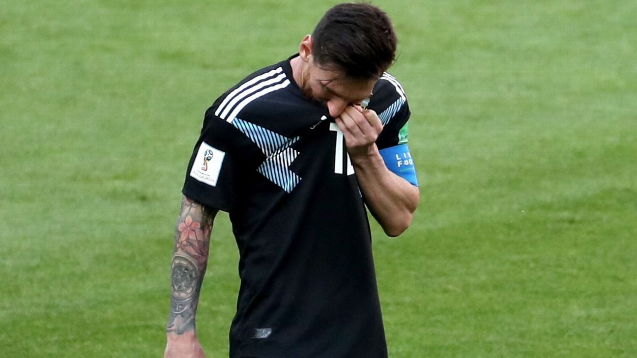 It was an afternoon of sheer frustration for Lionel Messi and Argentina.