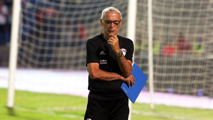 Hector Cuper of Egypt