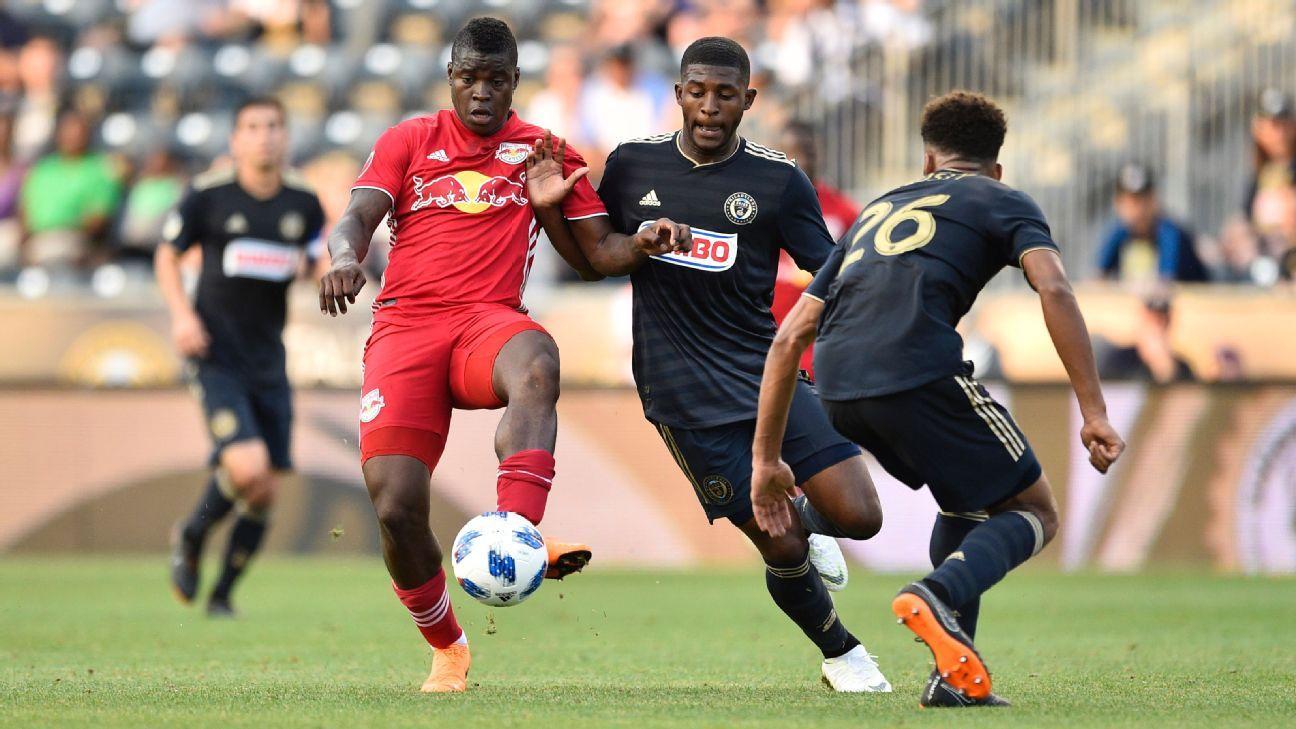 Philadelphia Union top New York Red Bulls to reach Open Cup quarterfinals