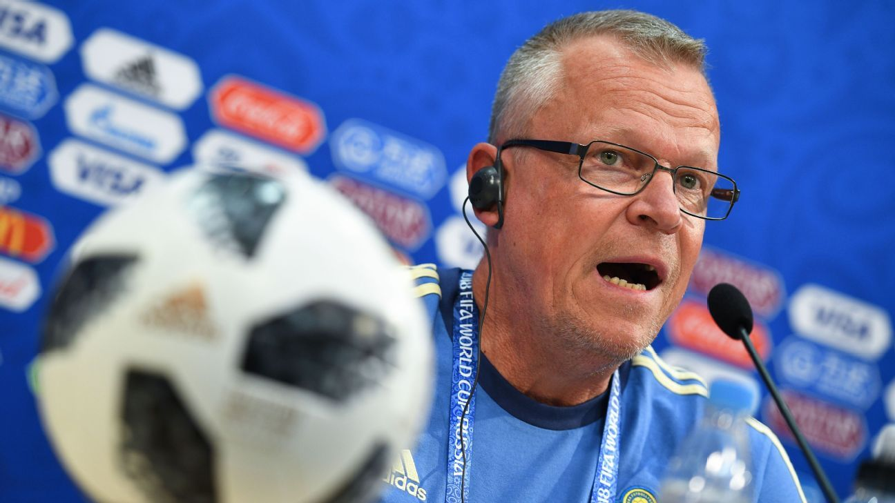 Janne Andersson has played down reports Sweden spied on South Korea ahead of the World Cup.