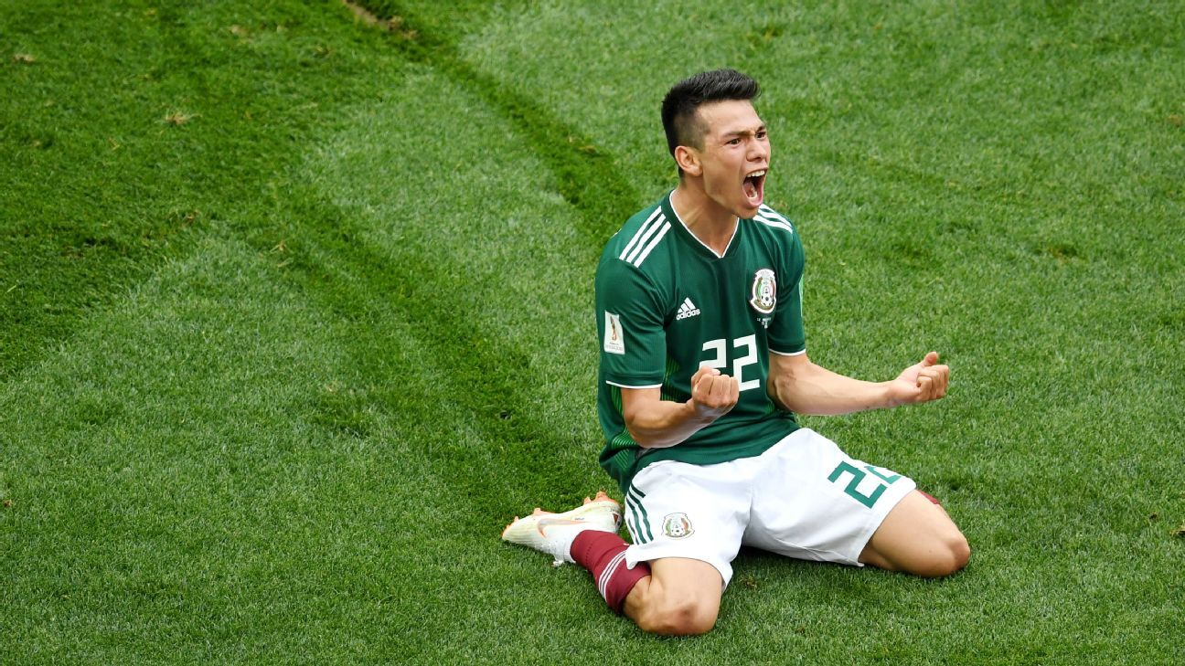 Lozano's counterattacking goal was enough as Mexico superbly held the defending champions at bay to wrap up a landmark win.