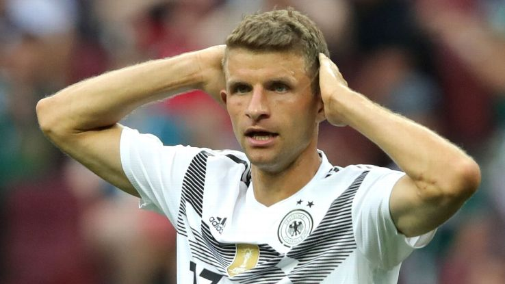 Thomas Muller and Germany had no answer for Mexico's pace or purpose.