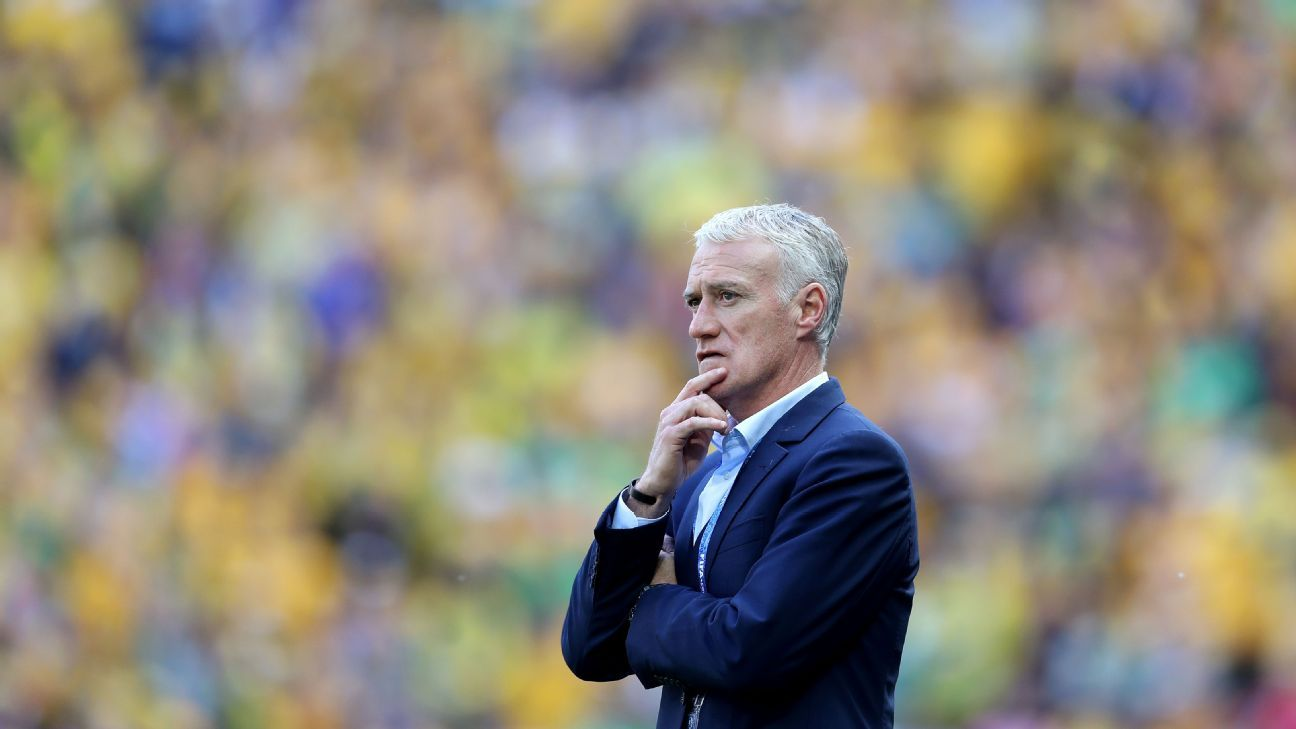 Deschamps got it wrong against Australia and added unnecessary pressure to him and his squad ahead of facing Peru.
