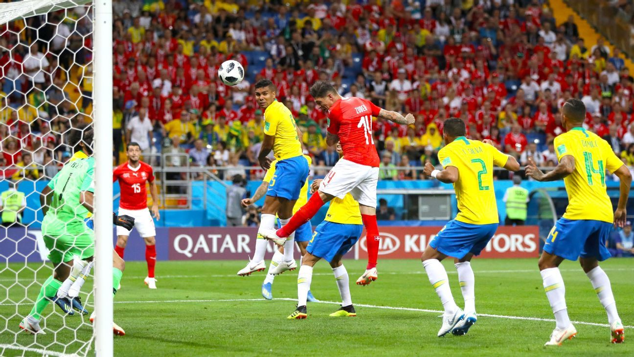 Brazil could only manage a 1-1 draw in their World Cup opener with Switzerland.