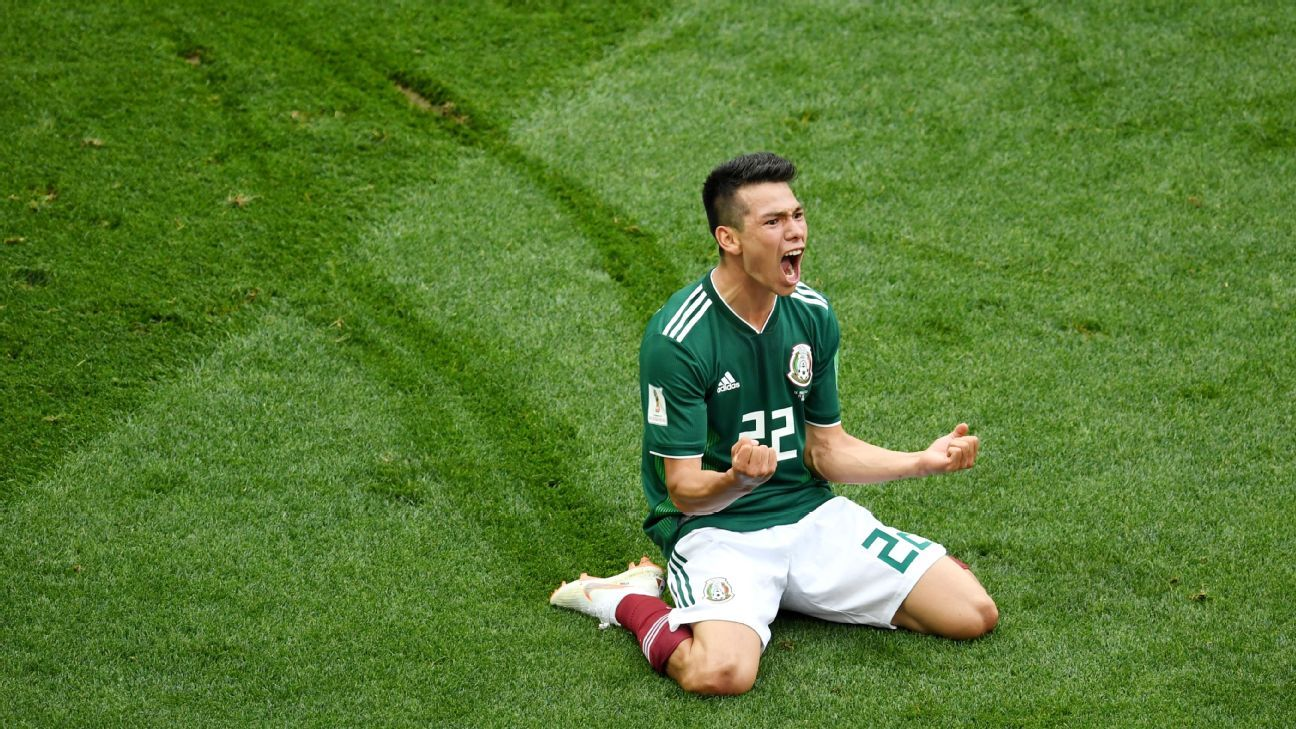 At just 22, Hirving Lozano etched himself into Mexican lore forever with the winning goal against Germany.