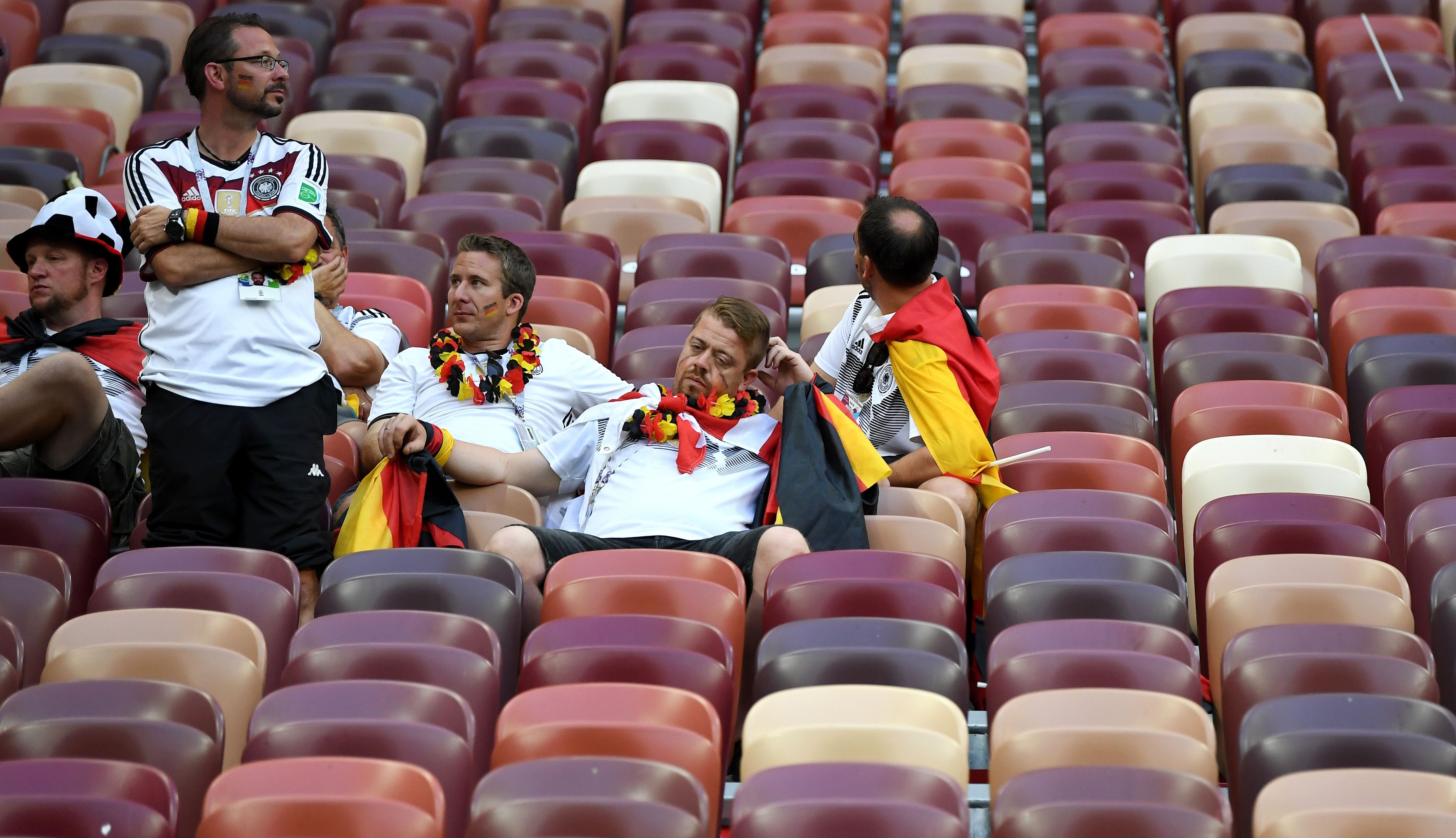 Germany and their fans will need to regroup to get three points vs. Sweden in their next match.