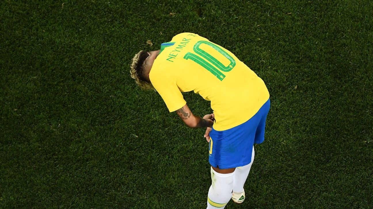 Neymar and Brazil were thoroughly disappointed after drawing their opener with Switzerland.