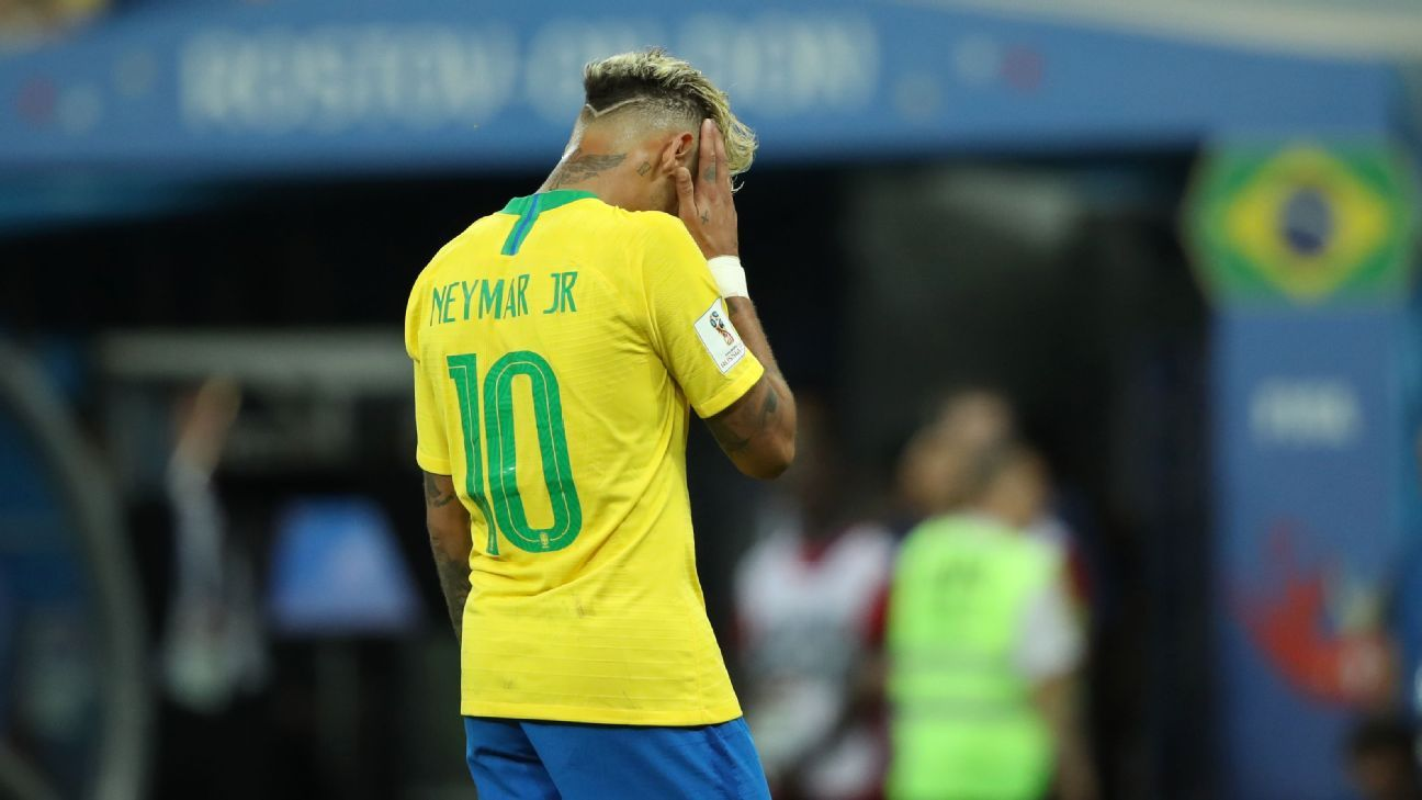 Neymar tried a lot but not much came off for the Brazilian star against Switzerland.