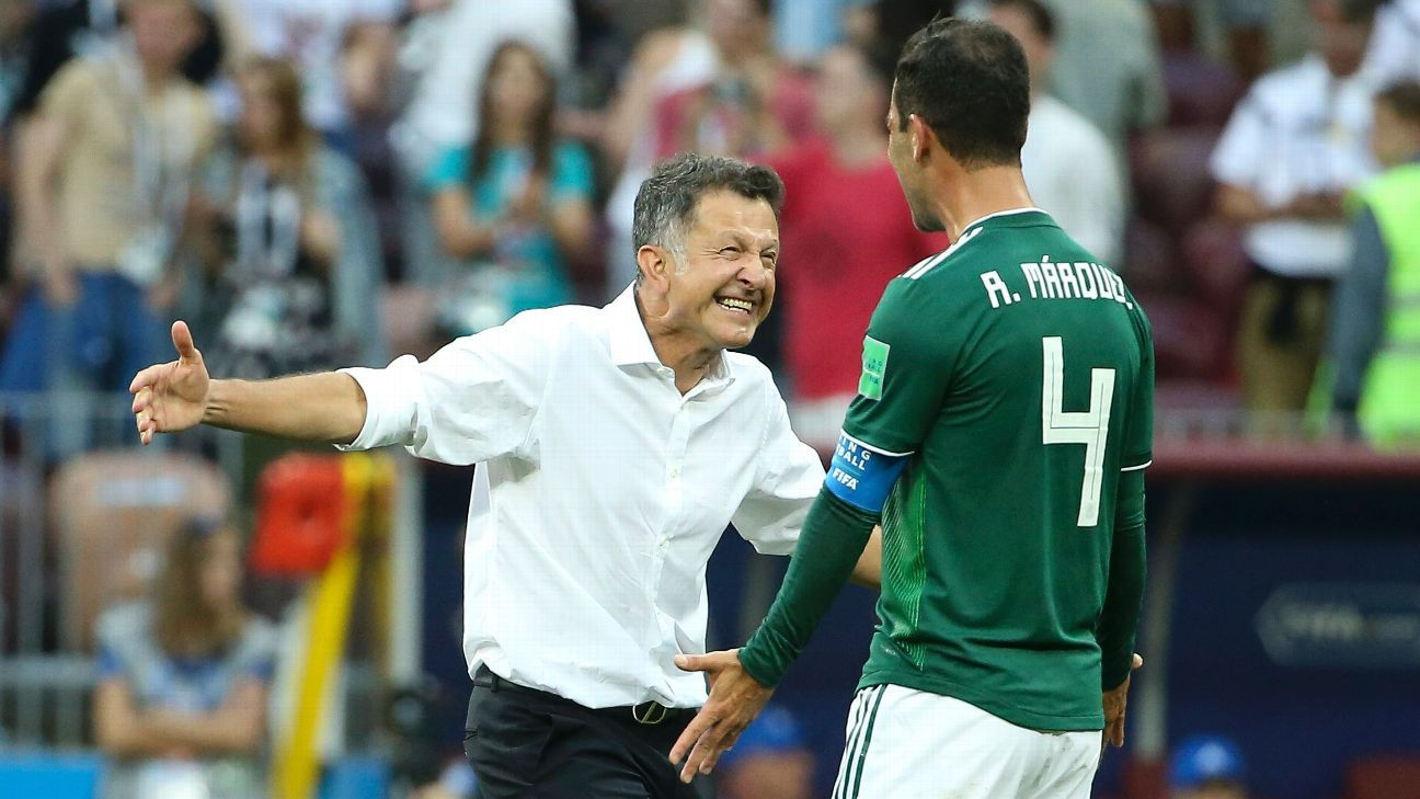 Osorio's methods haven't always worked but Sunday's win for Mexico over Germany shows he has his players' unanimous support.