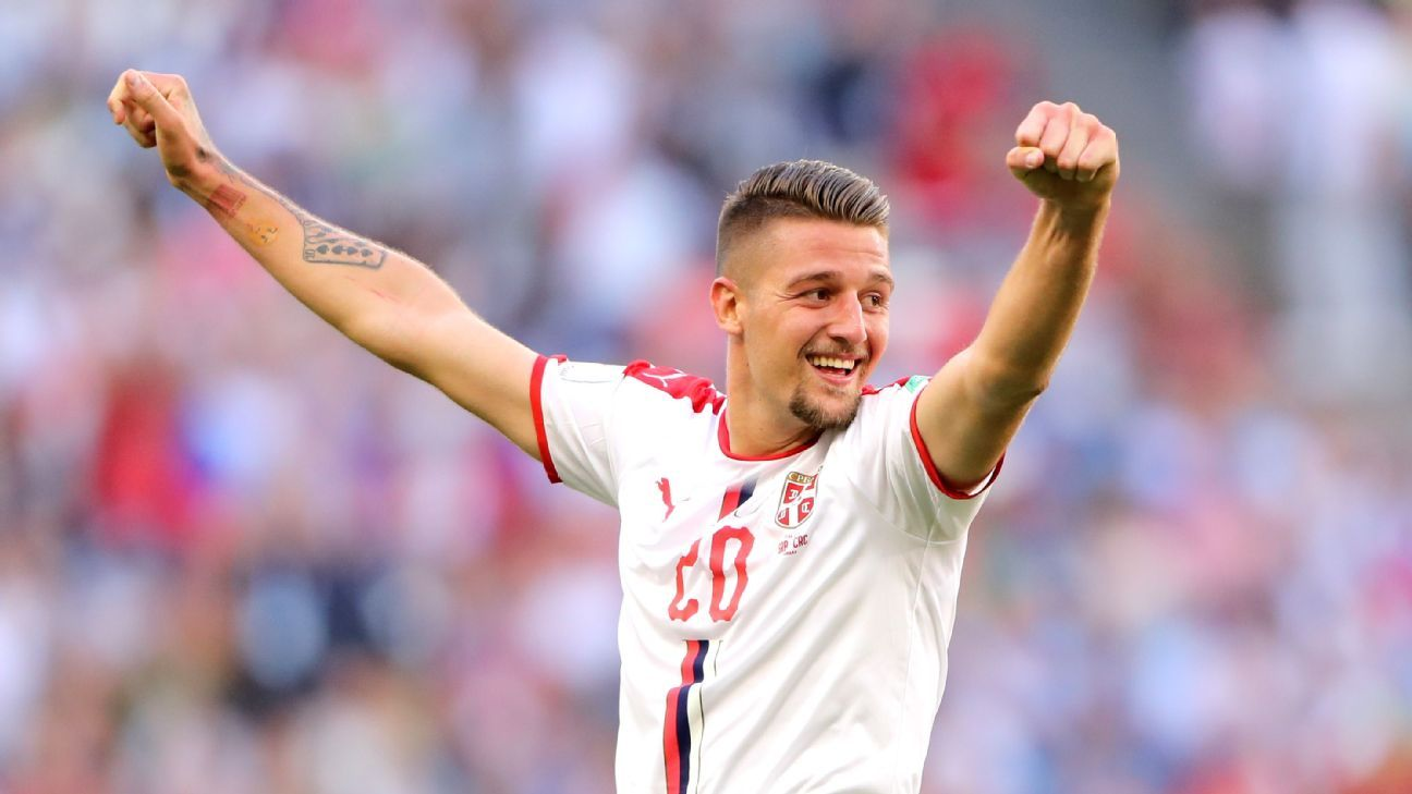 Sergej Milinkovic-Savic was unable to help Serbia progress to the knockout stages of the World Cup.