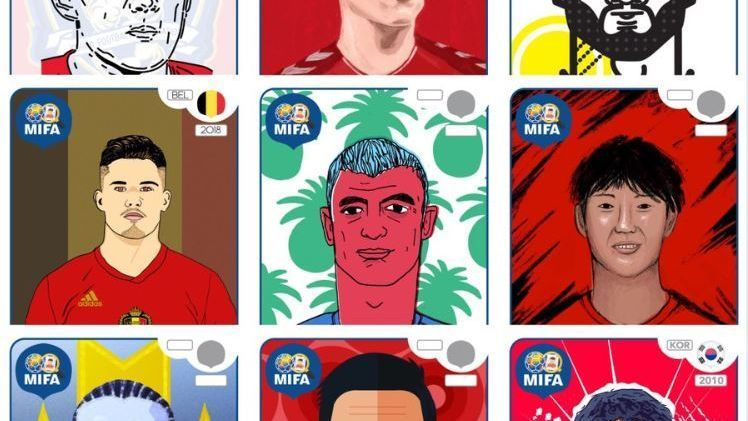 The MIFA (Missing In Footy Album) Project was started to fill in the gaps in the official Panini sticker album