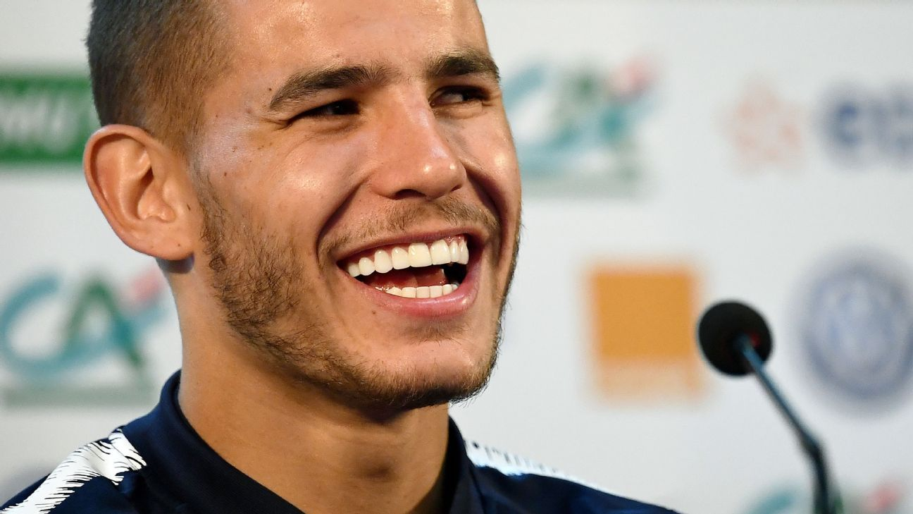 France's Lucas Hernandez is another of the Atletico Madrid contingent.