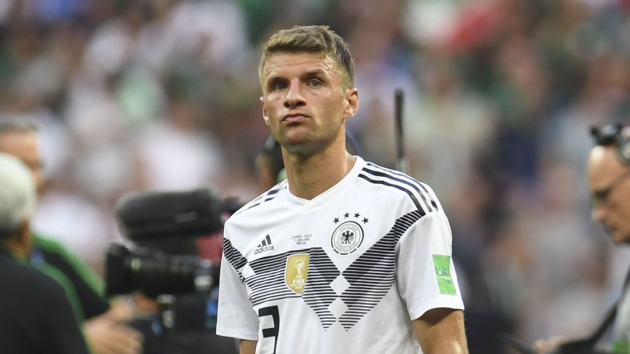 Germany's Thomas Muller