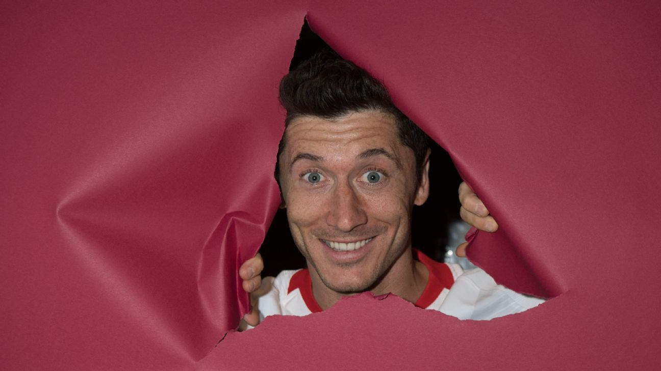 Robert Lewandowski said in an interview that he goes by the name 'Emil' in public to avoid attention
