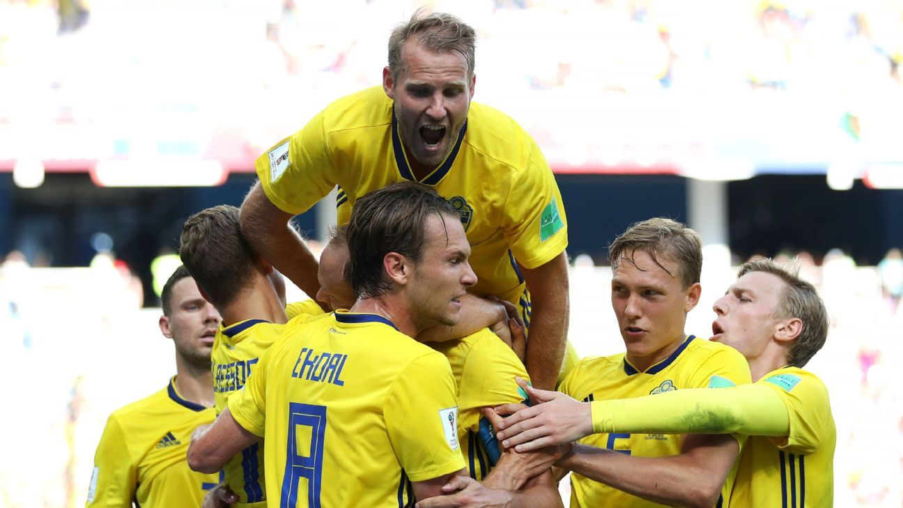 Andreas Granqvist's penalty handed Sweden their first World Cup opening win since 1958.