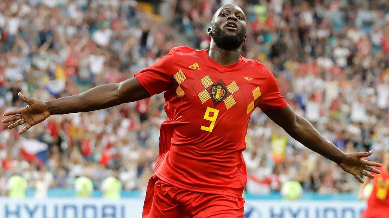 Romelu Lukaku scored twice against Panama on Monday.