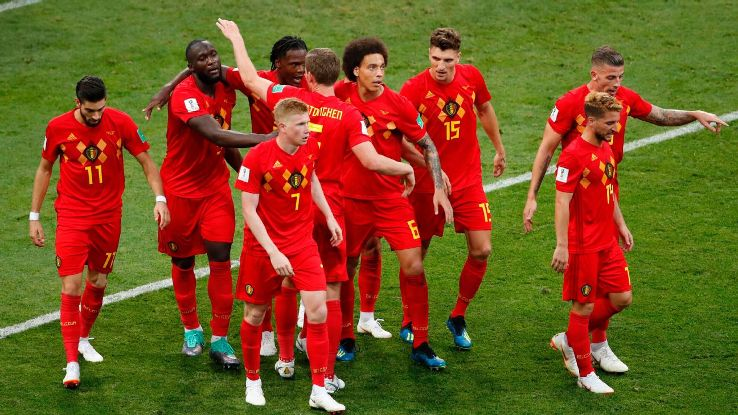 Belgium's galaxy of stars proved too much for Panama in Monday's confident 3-0 win.