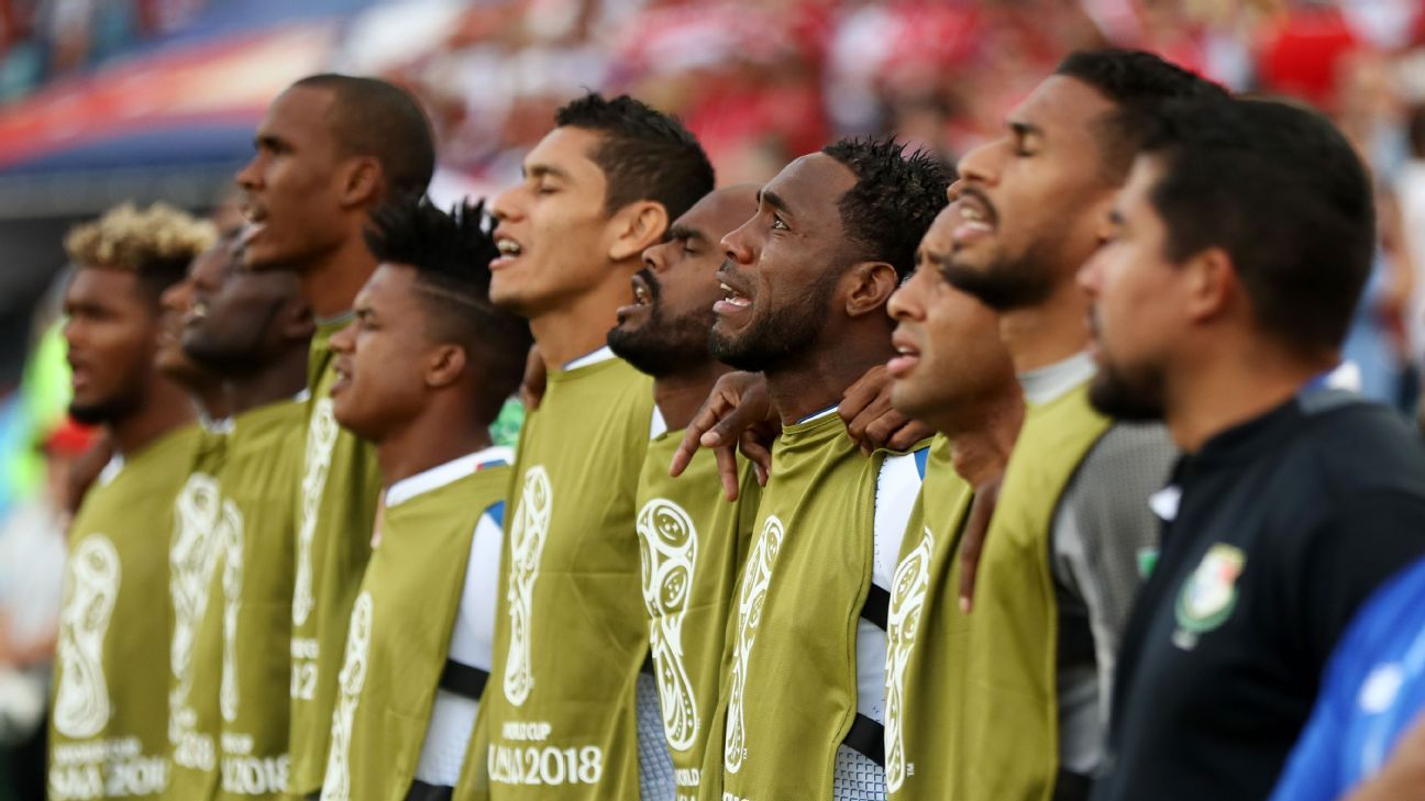 Panama's emotional national anthem showed just what the moment meant to the small nation.