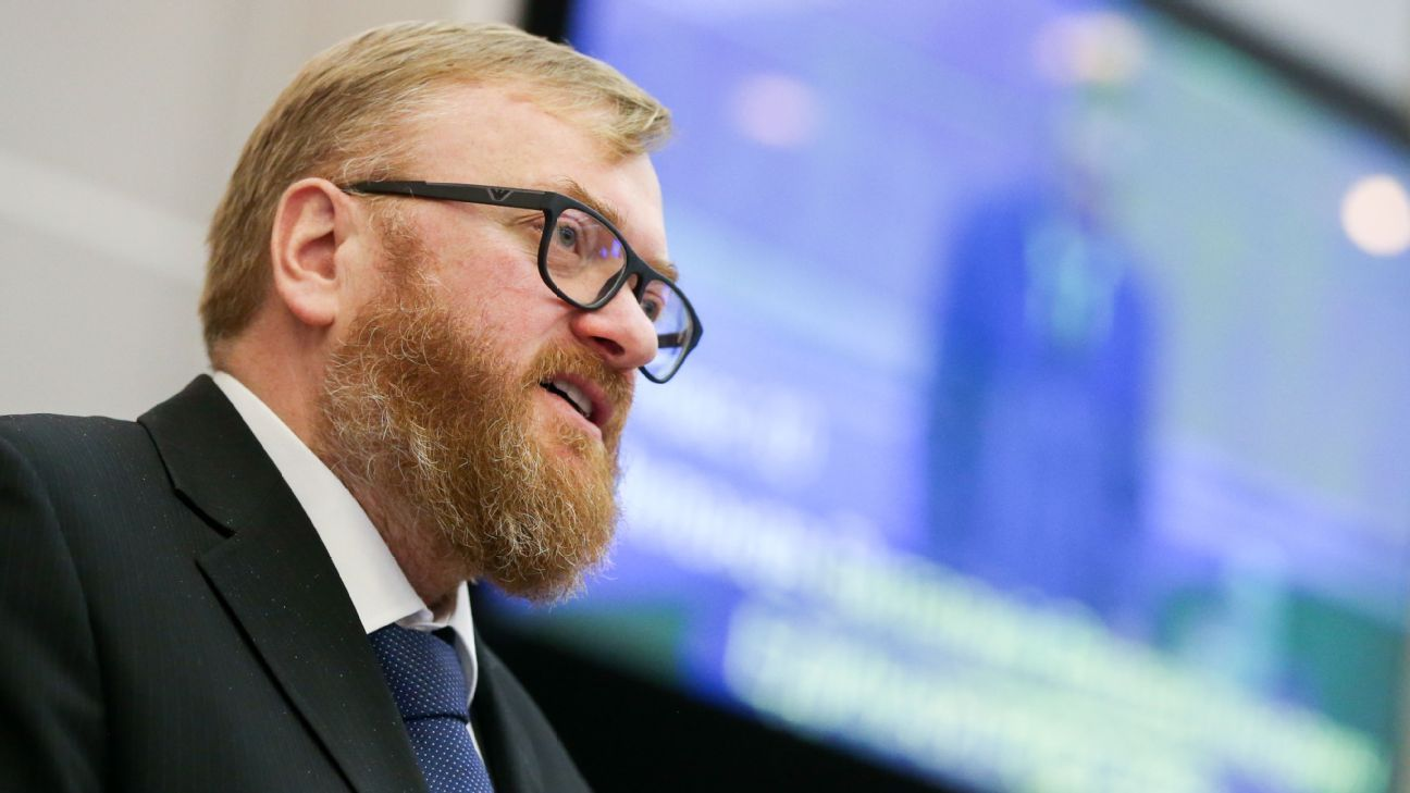 Vitaly Milonov of the Russian State Duma Committee on International Affairs