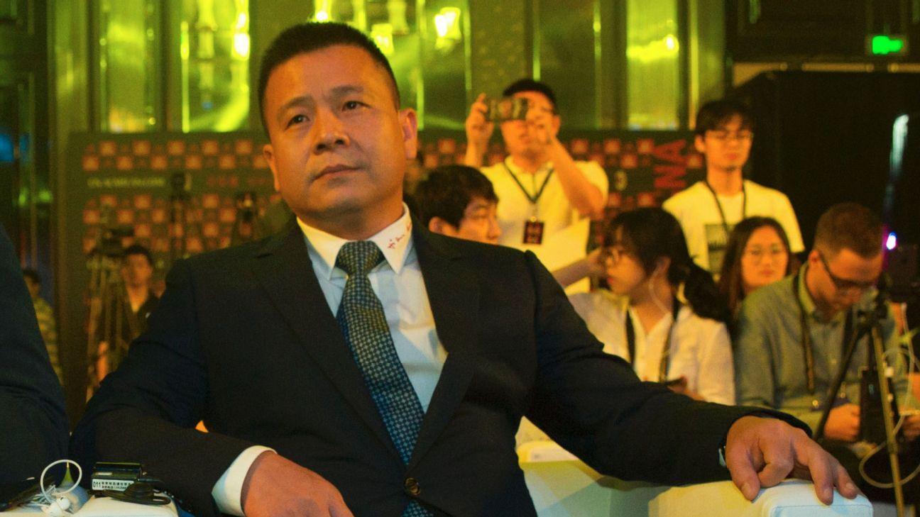 AC Milan president Li Yonghong