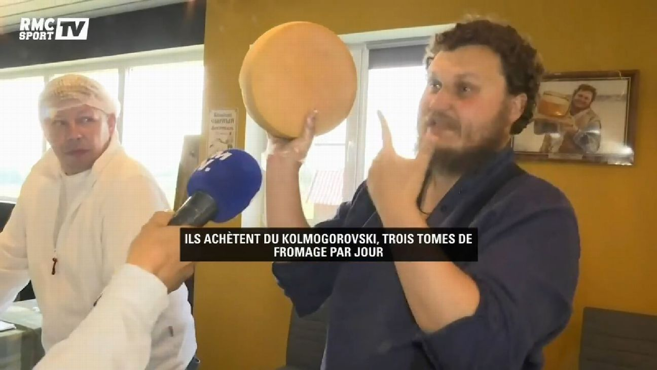 France's World Cup stars can't get enough of this man's dairy, he claims