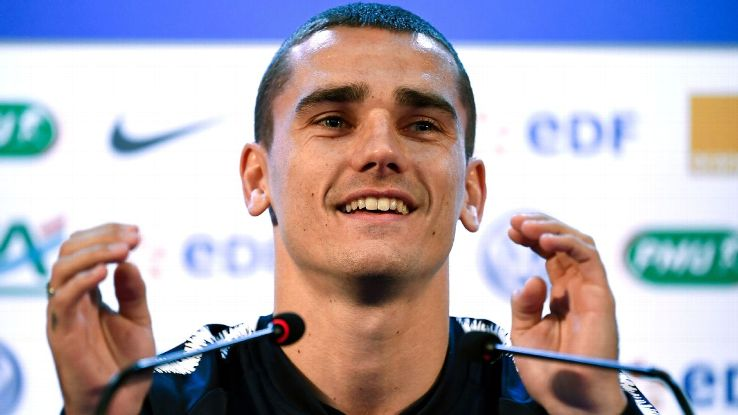 France's Antoine Griezmann admitted it will be emotional coming up against his Atletico Madrid teammates.