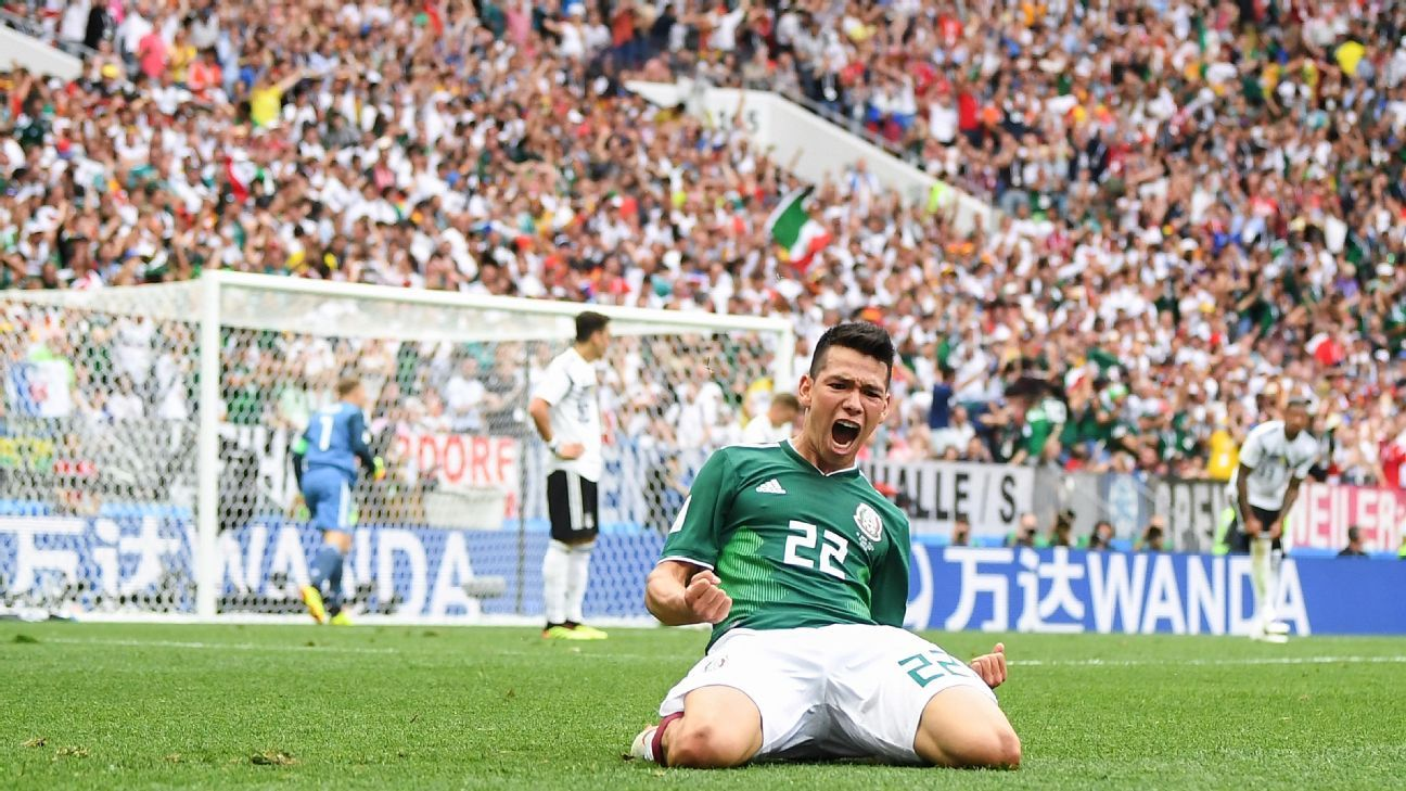 Lozano came into the World Cup as a rising star and showed his abilities in scoring the winner for Mexico vs. Germany.
