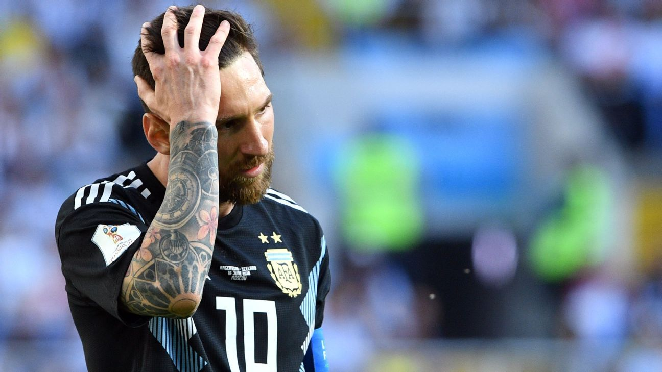Lionel Messi's apparent malaise won't be helped by the fact that his rival, Cristiano Ronaldo, is thriving at this World Cup so far.