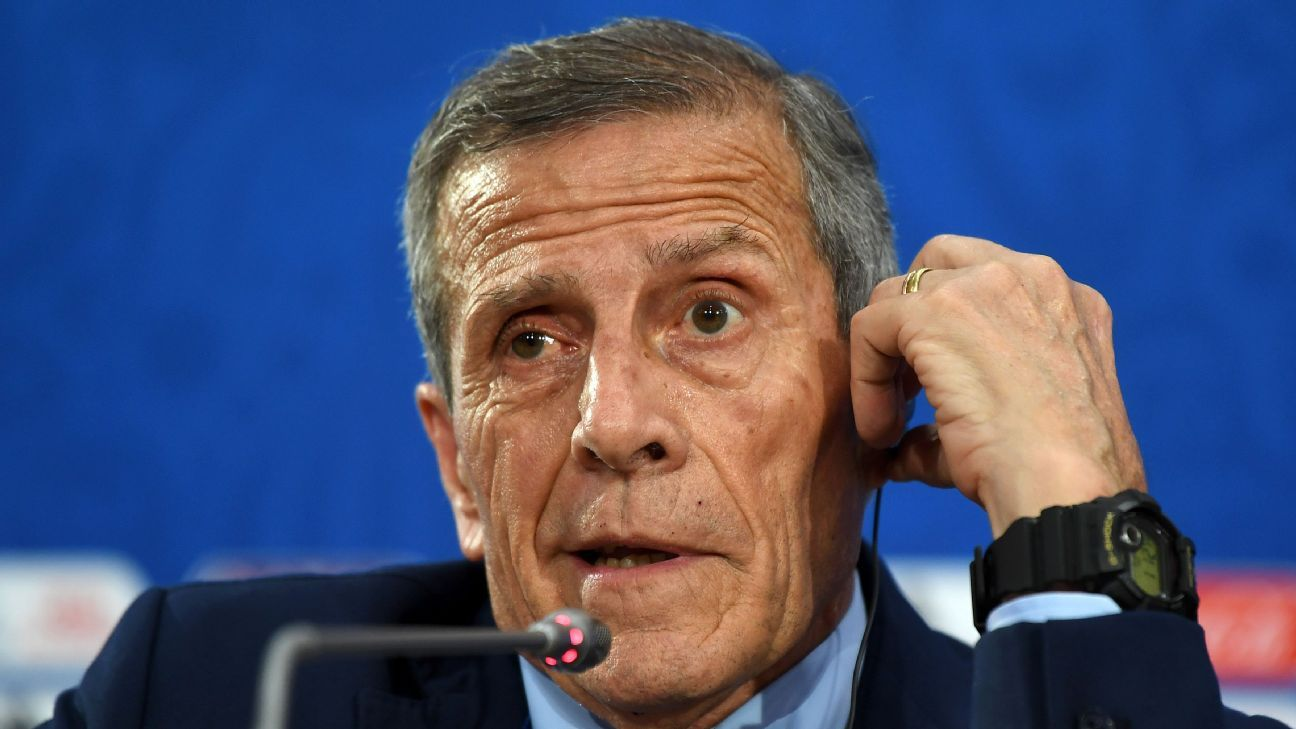 Oscar Tabarez has been going back and forth with his tactics in the past year but Uruguay look to be doubling down on a pragmatic approach in Russia.