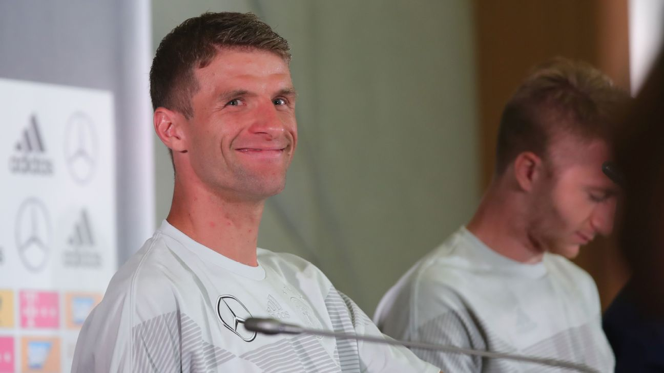 Thomas Muller is in poor form right now for Germany but isn't fazed by the criticism or the pressure heading into Saturday's must-win clash with Sweden.