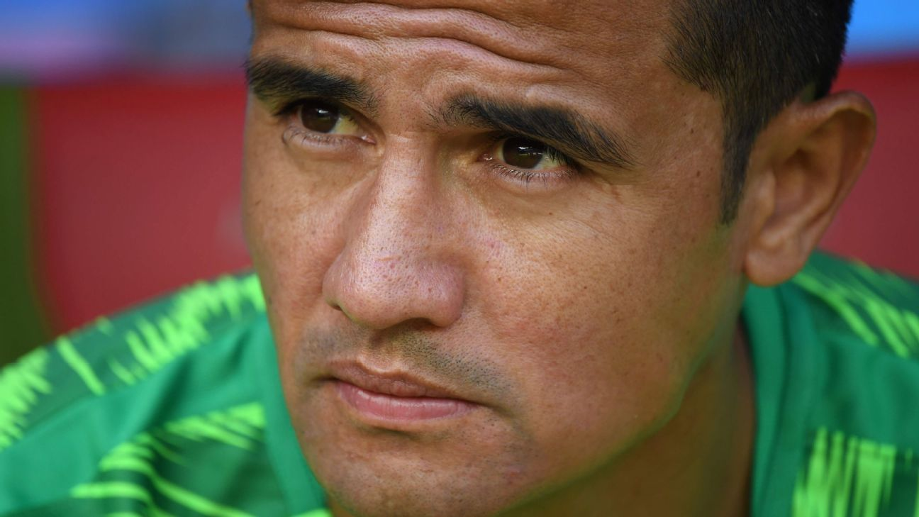Tim Cahill is a legend in Australia.