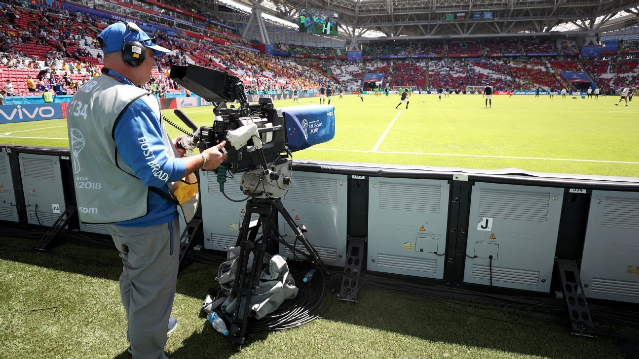 World Cup TV Camera